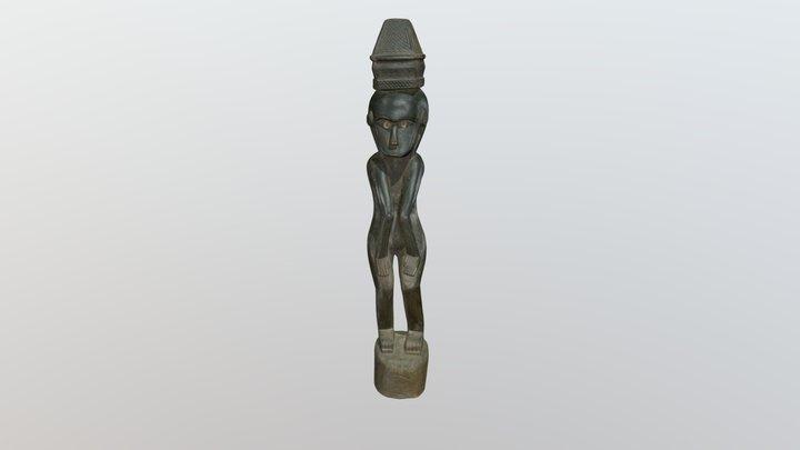 Susimąsčiusi pramotė. XX a. Vakarų Timoras 3D Model