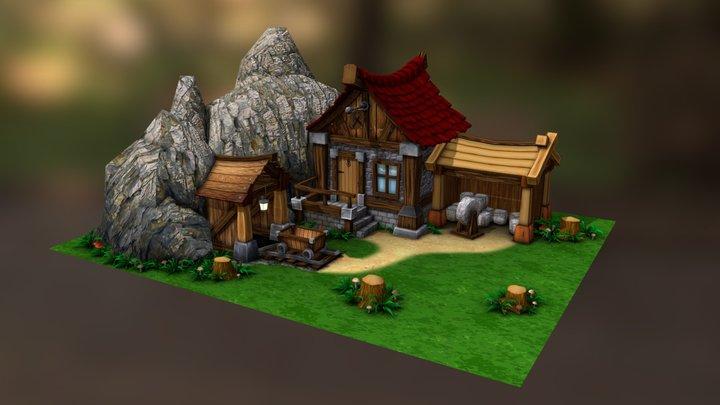 Stonemason 3D Model