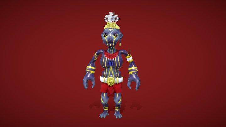 Guerrero 3D Model
