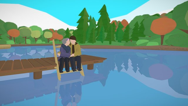 "Minimalism Project: ""Love"" 3D Model"