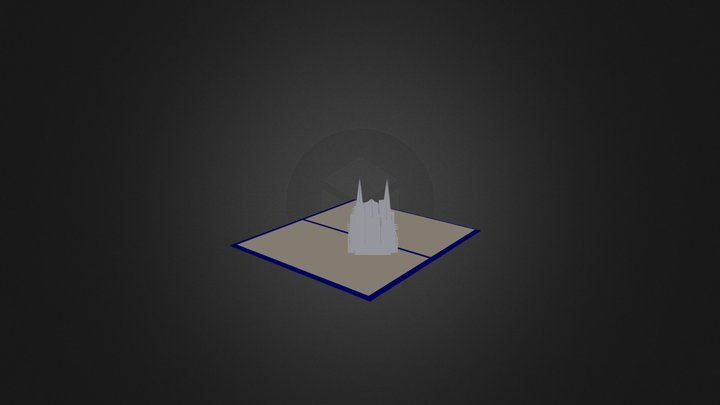 Cathedrale1 3D Model