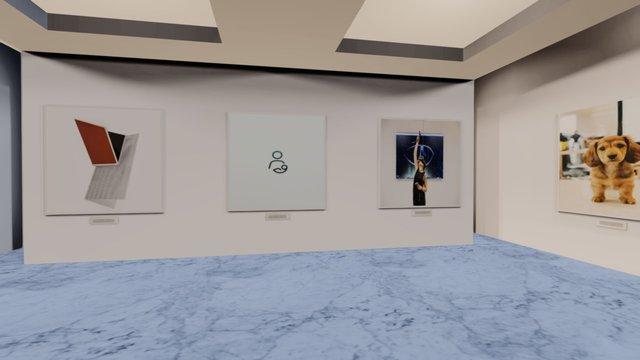 Instamuseum for @instrument 3D Model