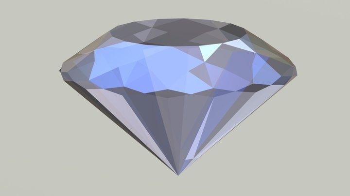 Blue Diamond - Free Giveaway 3D Model