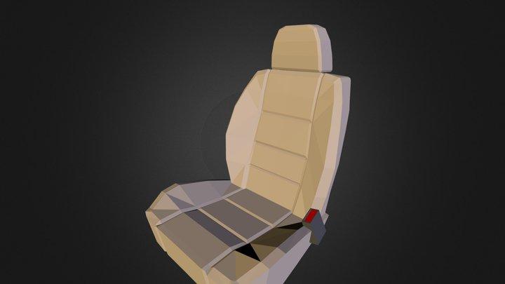 Carseat 3D Model