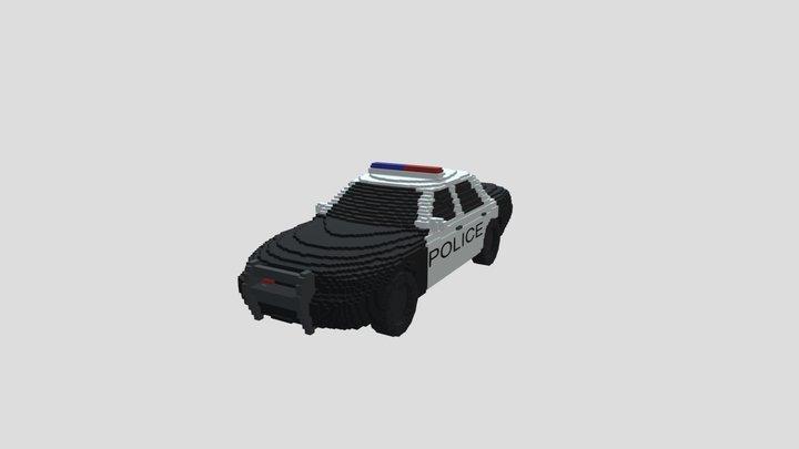 Police Interceptor 3D Model