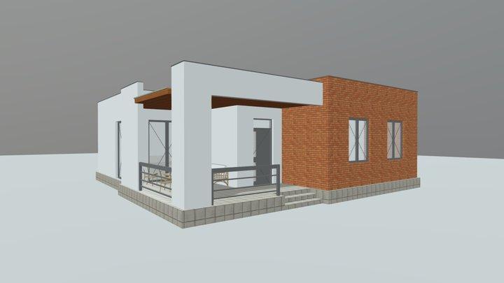 საცხოვრებელი სახლი 3D Model