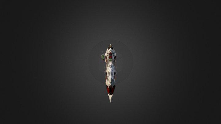 Vaygr Battlecruiser 3D Model