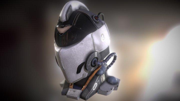 Helmet Final 3D Model