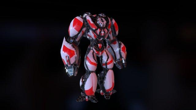 RocketCharacter 3D Model