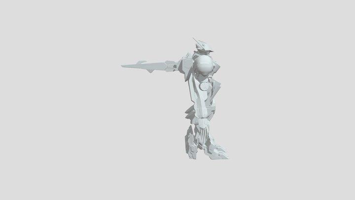 Barbatos Lupus Rex Complete 3D Model