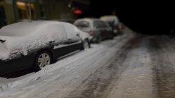 Snowed street in Bushwick, Brooklyn 3D Model