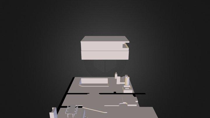 modern house 147 3D Model