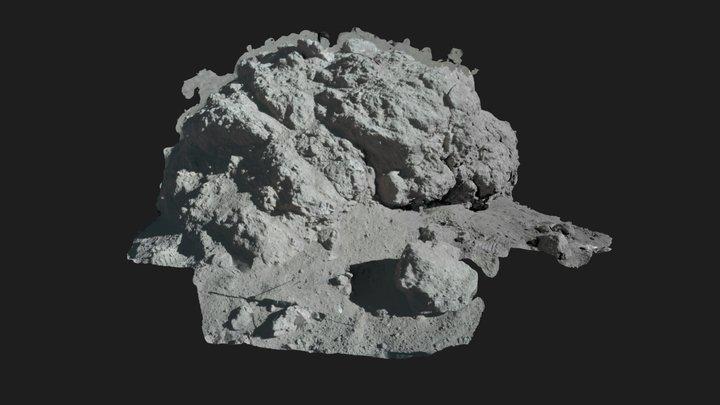 Apollo 17  - Station2 Boulder1 3D Model
