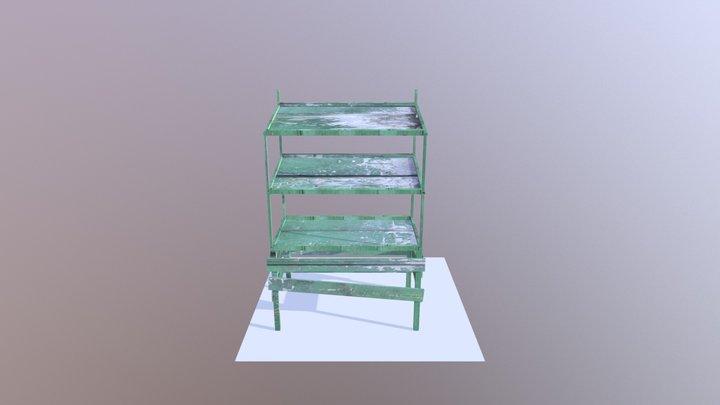 Fruit stand 3D Model