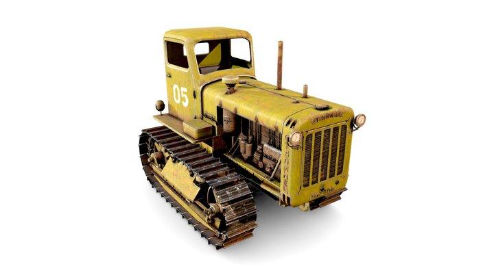 S-65 Stalinets 3D Model
