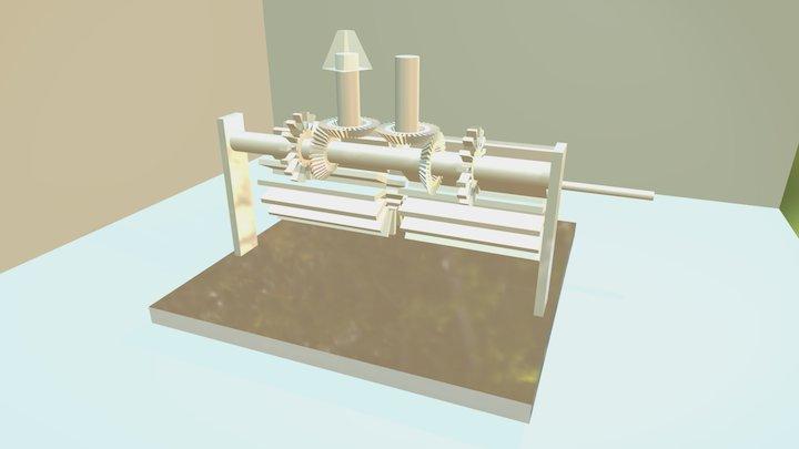 Weird Machine 3D Model