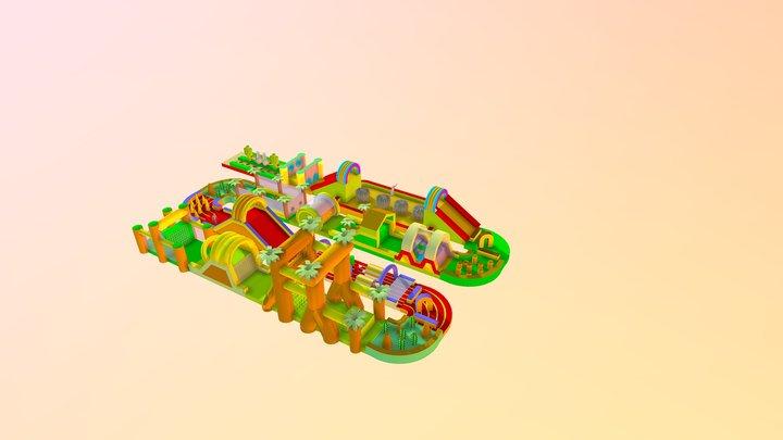 Mega Stormbaan 165m 3D Model