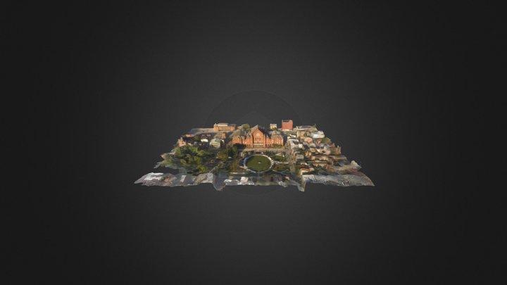Music Hall & Washington Park 3D Model