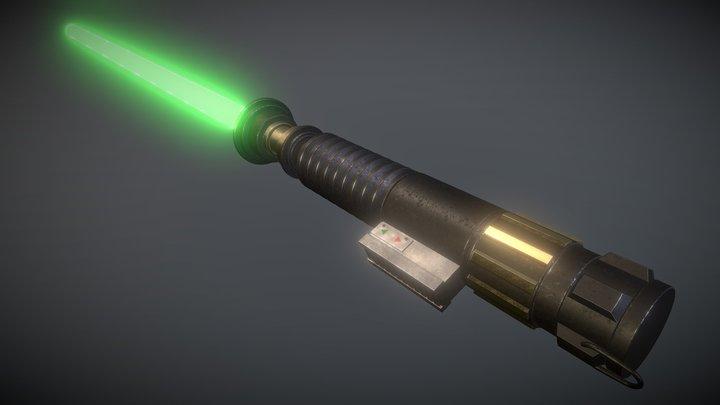 Lightsaber 3D Model