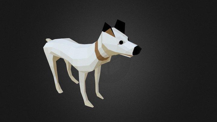 luna the lowpoly dog 3D Model