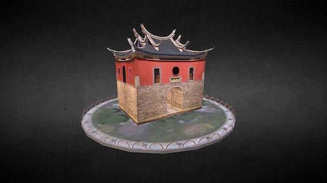 臺北-景福門(復刻版本) 3D Model