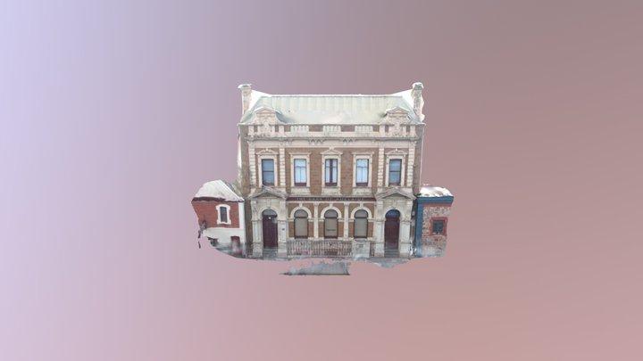 Bank of Adelaide Lipson St Pt Adelaide. 3D Model
