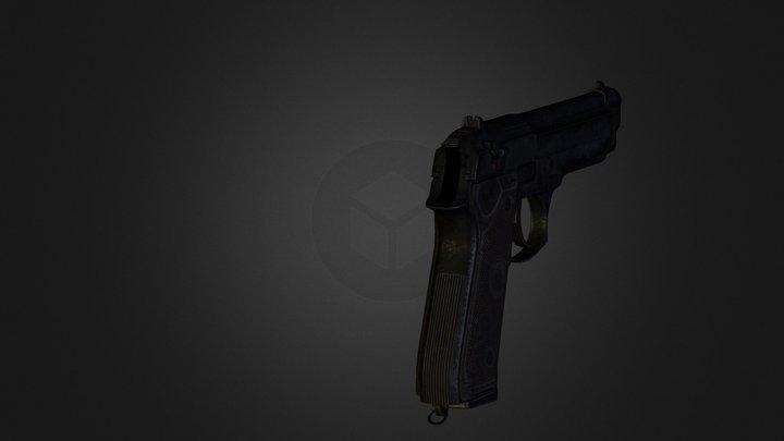 beretta92fs 3D Model