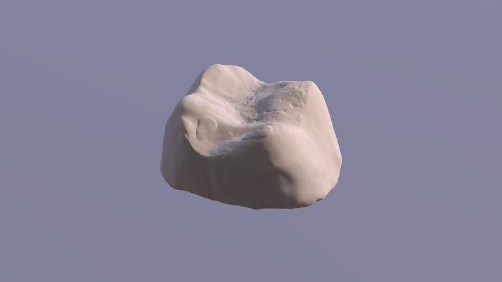 The demon's tooth 3D Model
