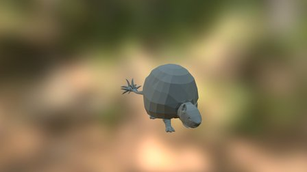 Doedicurus 3D Model