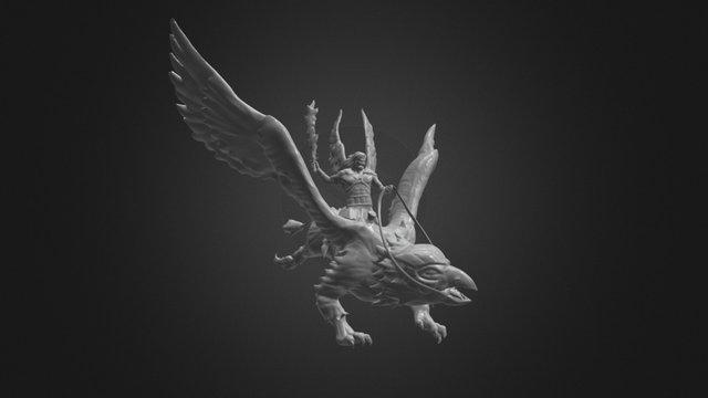 Mikha-el & Griffon 3D Model