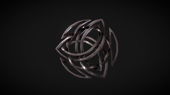 3leaf 3D Model