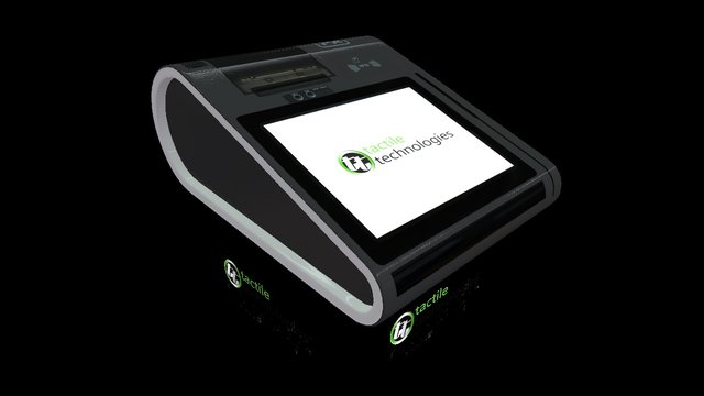 """TACTILE 10"""" MINI-POS, WINDOWS/ANDROID 3D Model"""