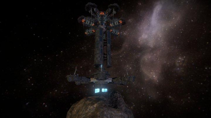 Asuran Ice Mine 3D Model