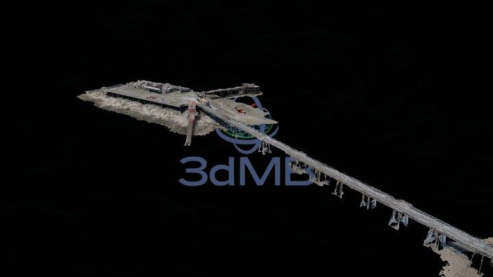 Birnbeck Pier 3D Model