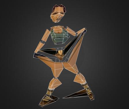 Deformation 3D Model