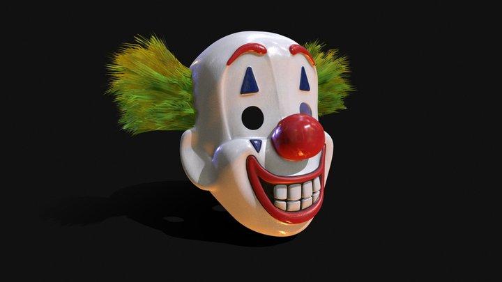 Joker Mask 3D Model