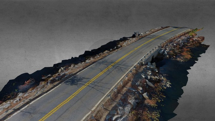 Fisherman's Road 3D Model