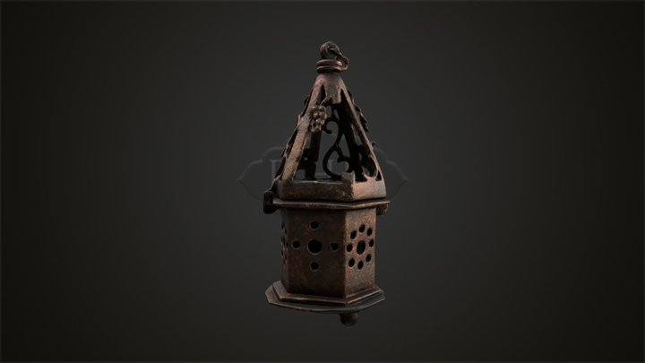 3 - Incense Burner 3D Model