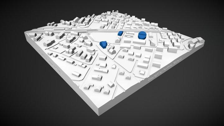 Gland Sketchfab V2 3D Model