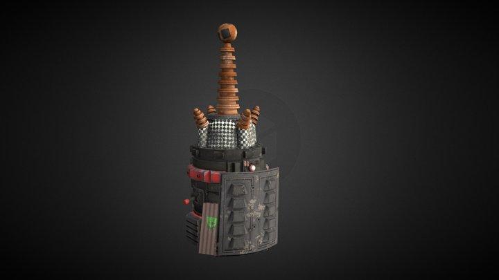 Warhammer 40K Ork Forcefield Generator 3D Model