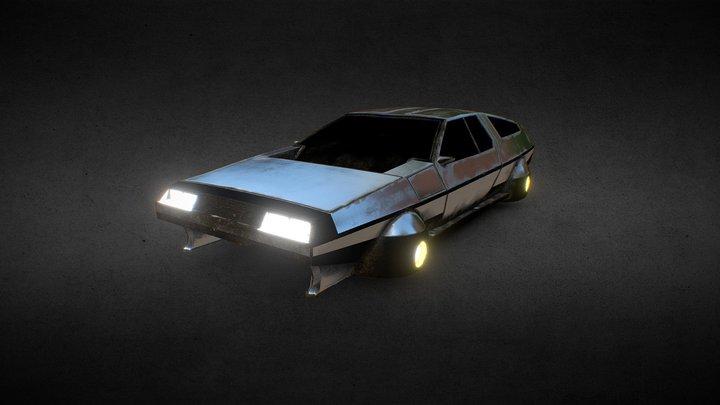 DeLorean Anti Grav 3D Model