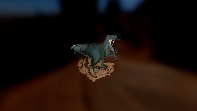 Dinosaur created in TiltBrush 3D Model
