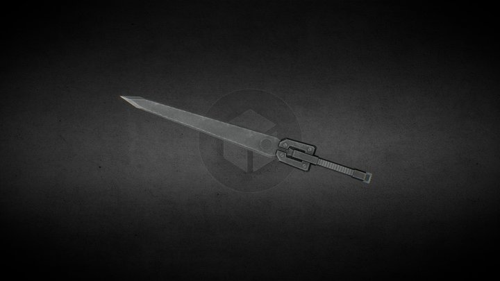 Metal Sword Prototype 3D Model