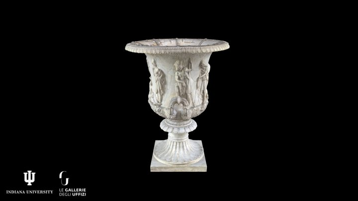 Grand Medici Vase Inv. 1914 n. 307 3D Model
