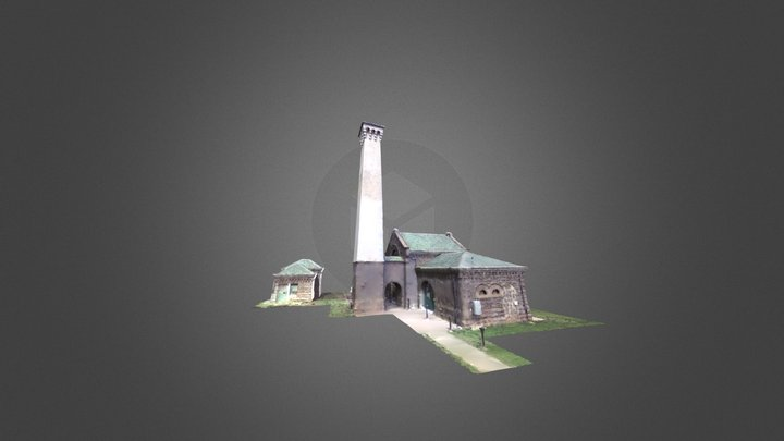 Kakaako Pumping Station 3D Model