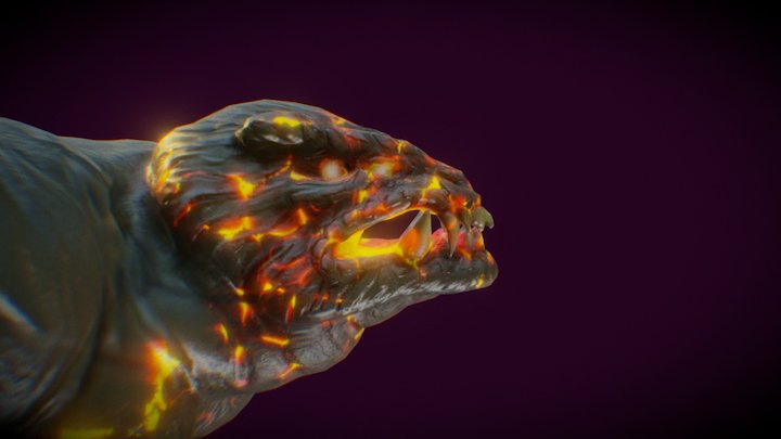 Monster - Video game character 3D Model