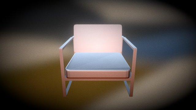 Garden Easy Chair 3D Model