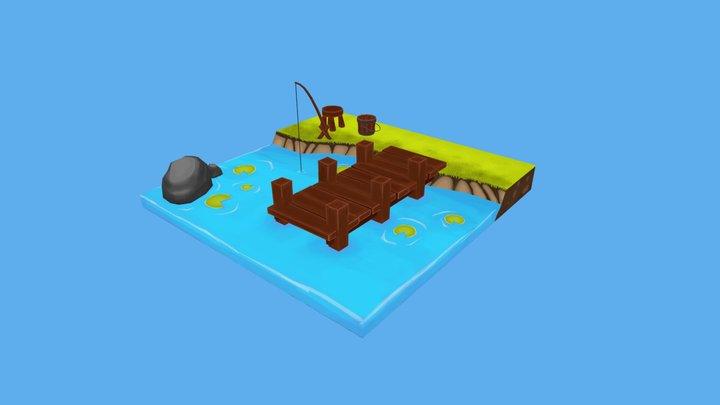 Lakeside 3D Model