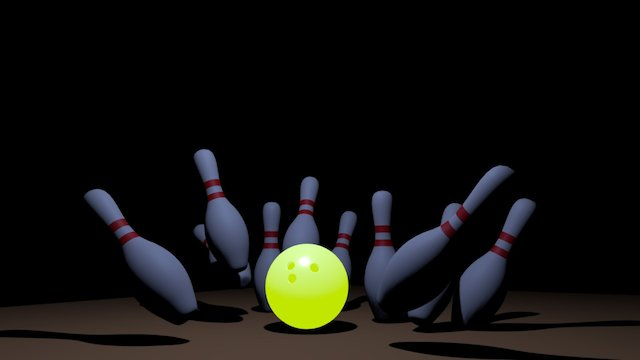 Bowlingalley 3D Model