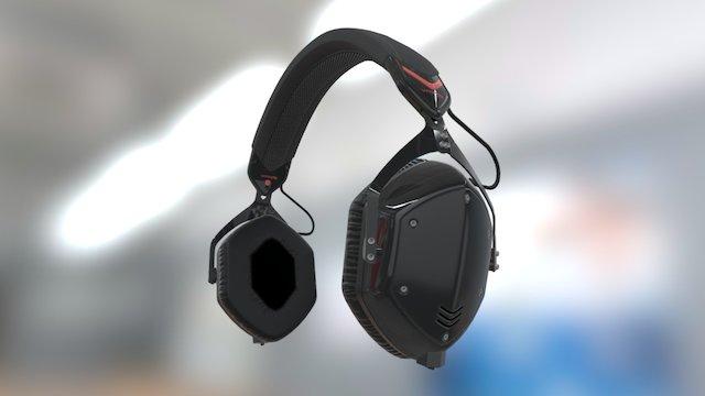 V-Moda Crossfade M100 Headphones 3D Model